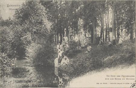 Lamarche (Vosges), Un coin des promenades sur les bords du Mouzon