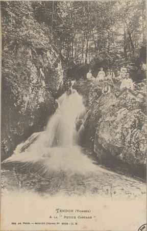 """Tendon (Vosges), À la """"Petite cascade"""""""
