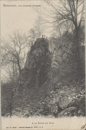 Réhaupal par Granges (Vosges), À la roche du chat