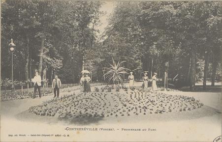 Contrexéville (Vosges), Promenade au parc