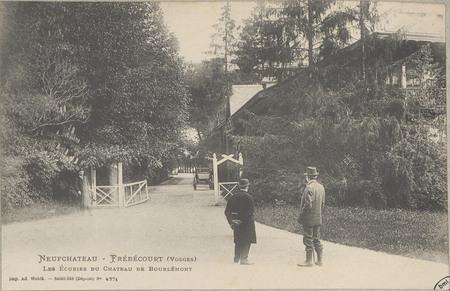 NeufChâteau - Frébécourt (Vosges), Les Ecuries du Château de Bourlémont
