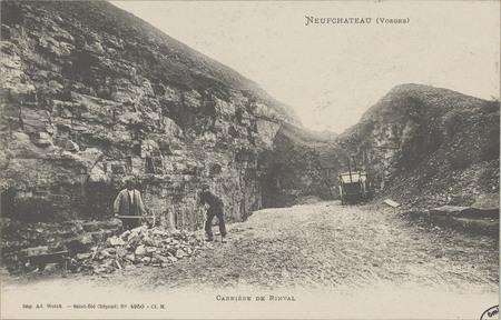 NeufChâteau (Vosges), Carrière de Rinval