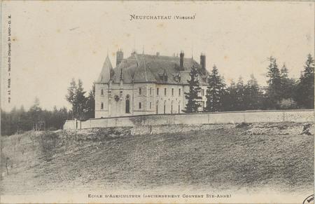 NeufChâteau (Vosges), École d'agriculture (anciennement couvent Ste-Anne)