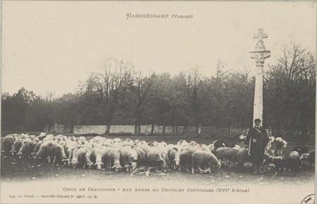 Harchéchamp (Vosges), Croix de Chauffour - Aux armes du Chatelet Couvonges…