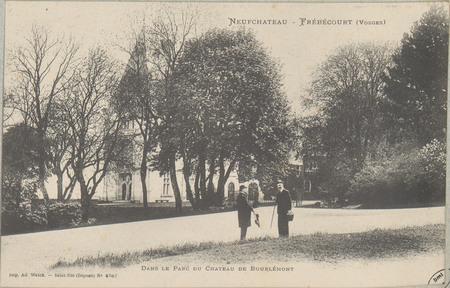 NeufChâteau - Frébécourt (Vosges), Dans le parc du Château de Bourlémont