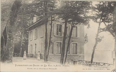 Plombières-les-Bains et le Val d'Ajol (Vosges), Hôtel de la Nouvelle-feuil…