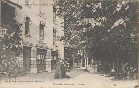Plombières - Val d'Ajol (Vosges), Feuillée Dorothée - Hôtel