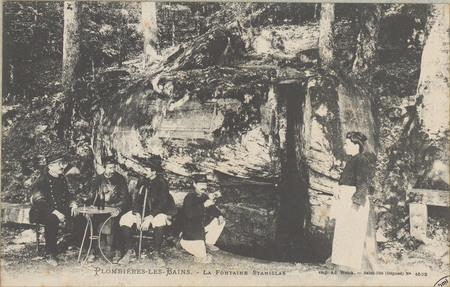 Plombières-les-Bains, La Fontaine Stanislas