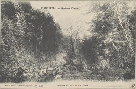 Réhaupal, par Granges (Vosges), Roches et Vallée du Fossé