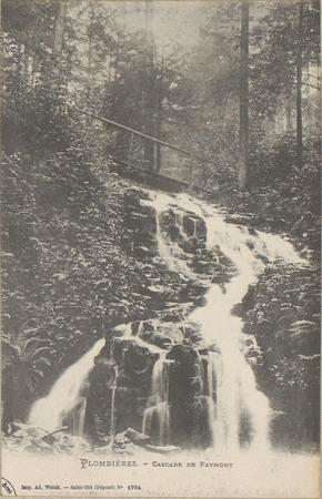Plombières, Cascade de Faymont