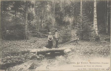 Granges, Le Tholy, Réhaupal (Vosges), Promenade au Trou de l'Enfer