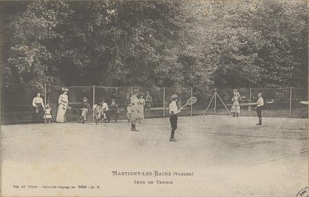 Martigny-les-Bains (Vosges), Jeux de tennis