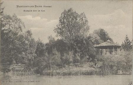 Martigny-les-Bains (Vosges), Kiosque sur le lac