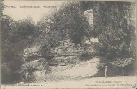 Vittel - Contrexéville - Martigny, Thuillières (Vosges), Chèvre-Roche avec…