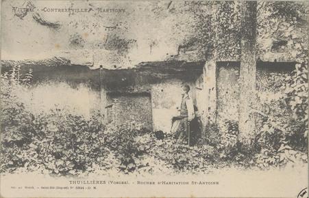 Vittel - Contrexéville - Martigny, Thuillières (Vosges) - Rocher d'habitat…