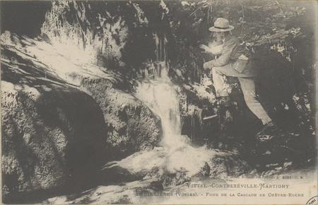 Vittel - Contrexéville - Martigny, Thuillières (Vosges) - Fond de la casca…