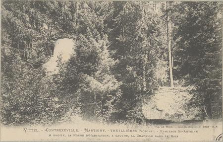 Vittel - Contrexéville - Martigny, Thuillières (Vosges) - Ermitage St-Anto…