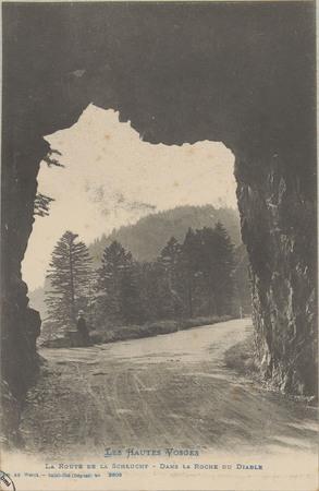 La Route de la Schlucht dans la Roche du Diable