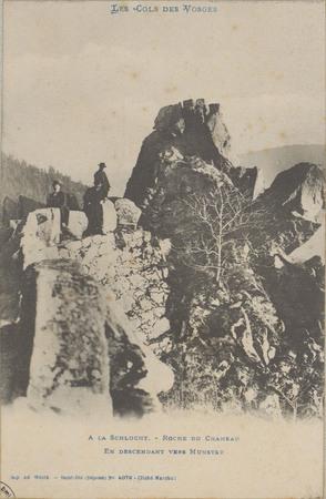 À la Schlucht, Roche du Chameau en descendant vers Munster