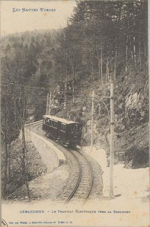 Gérardmer, Le Tramway électrique vers la Schlucht
