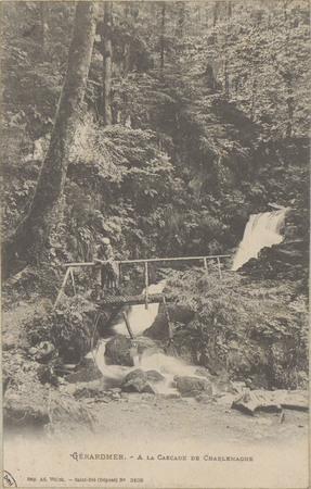 Gérardmer, À la Cascade de Charlemagne