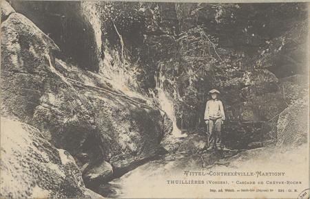 Vittel - Contrexéville - Martigny, Thuillières (Vosges), Cascade de Chèvre…