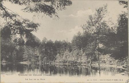 Vallée de Celles (Vosges), Le lac de la Maix
