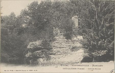 Vittel - Contrexéville - Martigny, Thuillières (Vosges), Chèvre-Roche