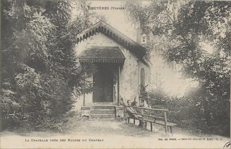 Bruyères (Vosges), La Chapelle près des ruines du Château