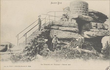 Saint-Dié, La Chaire du Diable - Sapin Sec