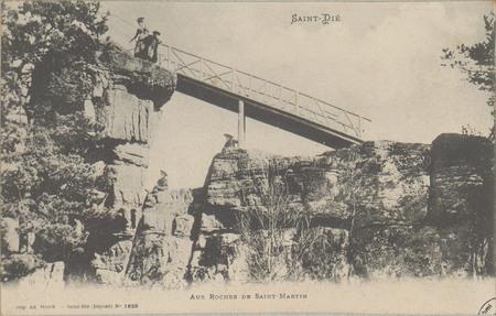 Saint-Dié, Aux Roches de Saint-Martin