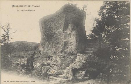 Moyenmoutier (Vosges), La Haute-Pierre