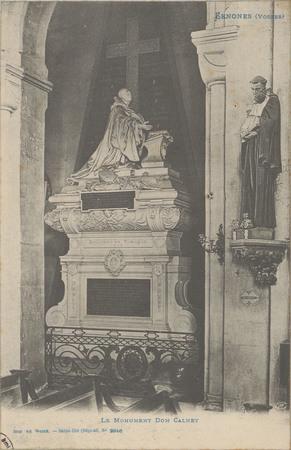 Senones (Vosges), Le Monument Dom Calmet