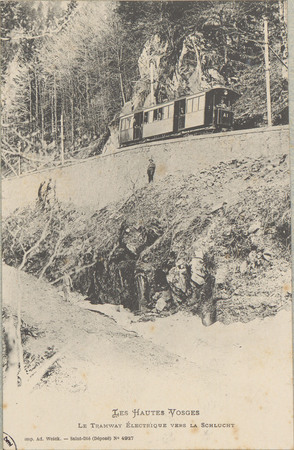 Le Tramway électrique vers la Schlucht