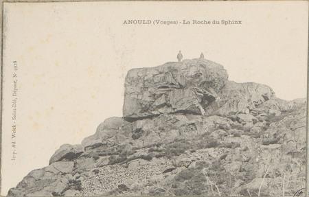 Anould (Vosges), La Roche du Sphinx