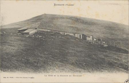 Bussang (Vosges), La Tête et la chaume du Drumont