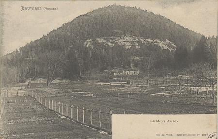 Bruyères (Vosges), Le Mont Avison