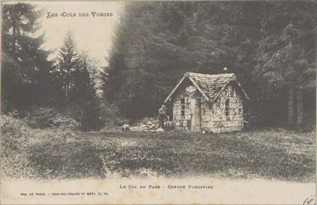 Le Col du page, Refuge forestier