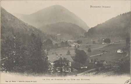 Bussang (Vosges), Le Col de Bussang et la Tête des Russiers