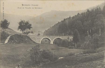 Bussang (Vosges), Pont et Vallée de Séchenat
