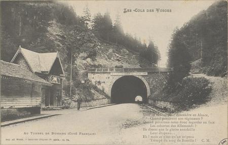 Au tunnel de Bussang (Côté français)