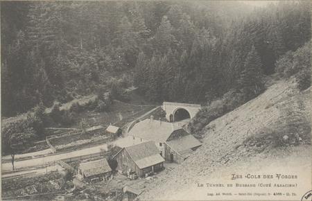 Le Tunnel de Bussang (côté alsacien)