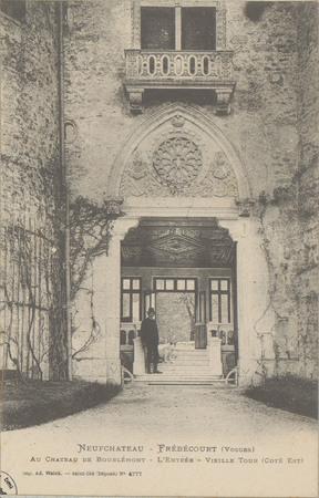 NeufChâteau - Frébécourt (Vosges), Au Château de Bourlémont, L'Entrée, Vie…