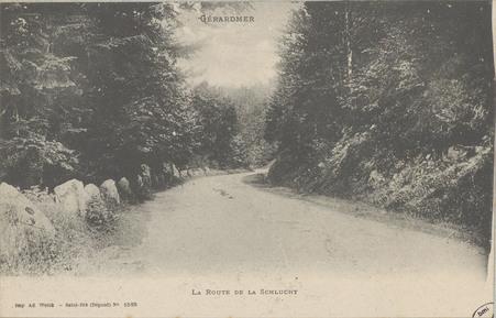 Gérardmer, La Route de la Schlucht