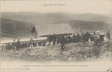 La gare du Hohneck, Le Tramway électrique au sommet du Hohneck