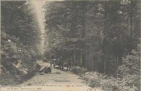 Gérardmer, La Route du lac vers le Phény