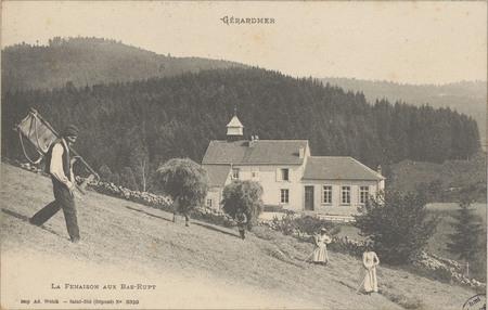 Gérardmer, La Fenaison aux Bas-Rupt