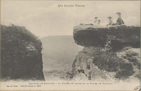 Environs de Saint-Dié, La Pierre de Laitre et la Vallée de Taintrux