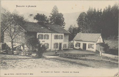 Ballon d'Alsace, Le Plein du Canon, Maison du garde