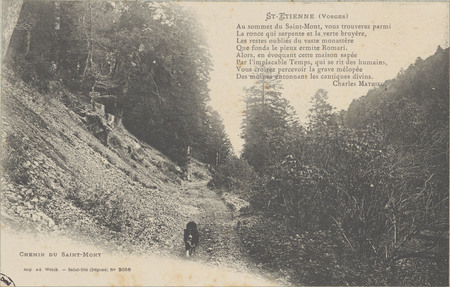 Saint-Etienne (Vosges), Chemin du Saint-Mont
